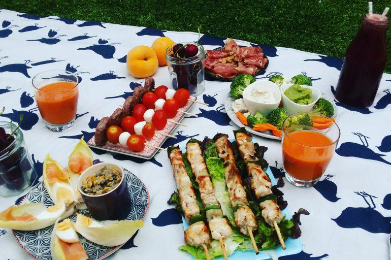 Picoteo/picnic healthy - Beatriz Colorado