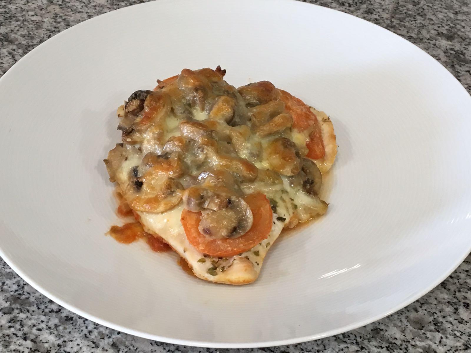 Pechugas estilo pizza – receta de participante