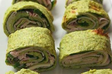 Snack de rollitos healthy style