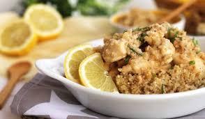 Marinado de Pollo al Limón con Quinoa