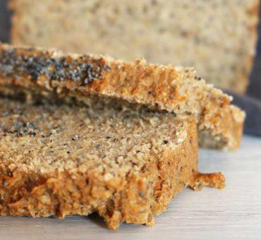 Pan proteico de avena