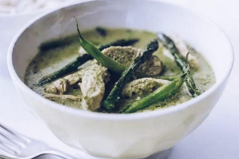 Curry verde tailandés